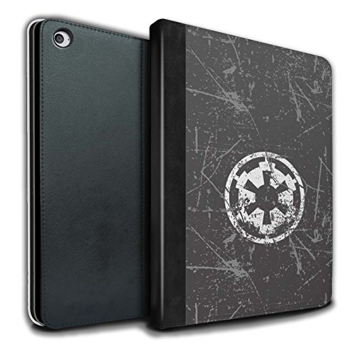 �lle/Case/Brieftasche für Apple iPad Air 2 Tablet/Galaktisches Imperium Inspiriert Muster/Galaktisches Symbol Kunst Kollektion ()
