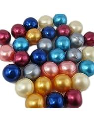 20 Perles de Bain Rondes - Assortiment de senteurs et Couleurs