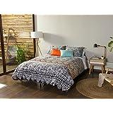 Kas Australia.- Conjunto de funda nordica Makena para cama de 180 (funda nordica en medida 260x240 + 2 fundas de almohada de 50x90)