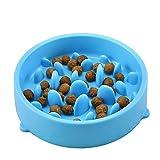 Vicstar Reisenäpfe Hundenapf Katzennapf Anti Schling Langsame Fütterung Interaktive Napf Umweltfreundlicher Langlebiger Ungiftiger Schüssel für Hunde