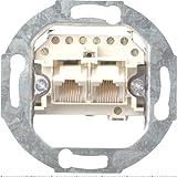 Gira 018700 Steckdose UAE TAE, 2 x 8 polig Einsatz