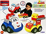 #9: CARTOON BLOCKS - AMBULANCE - POLICE CAR - FIRE TRUCK