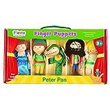 Tellatale T-2377 - Juego de marionetas de dedo, diseño de Peter Pan