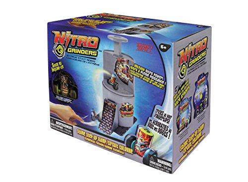NITRO GRINDERS 33264D  - Startset Mit Rampe - Stone Step-Up Ramp, Fingerboards, Mini-BMX und Zubehör