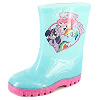 My Little Pony Lorianne Girls Synthetic Material Wellies Light Blue