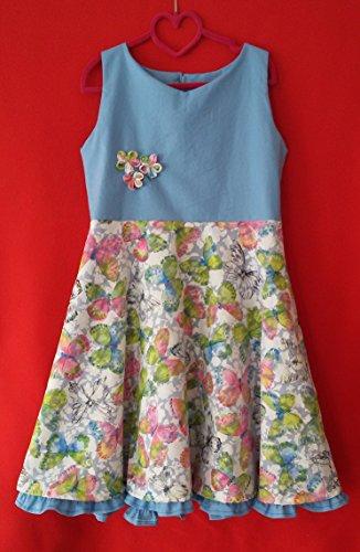 Mädchenkleid/Einschulungskleid/Kleid zur Einschulung/Sommerkleid Gr. 134/140