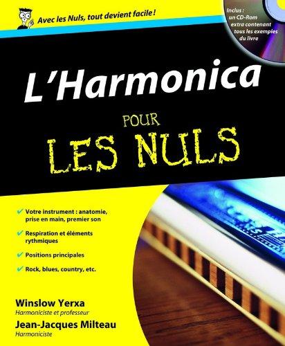 L'Harmonica pour les nuls (1CD) par Jean-Jacques MILTEAU