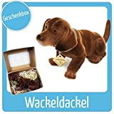 Wackeldackel Original - Made in Germany - seit 1965. Einfach Kult ! GeschenkBox