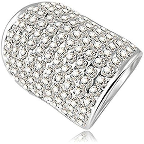 Alimab Gioielli Donne signore anelli di fidanzamento anelli di nozze amore anelli anelli d'oro oro placcato