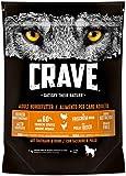 CRAVE Premium Trockenfutter für Hunde - Getreidefreies Adult Hundefutter mit hohem Proteingehalt