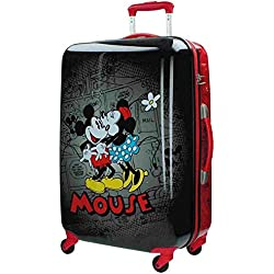 Disney Retro Comic Black Equipaje Infantil, 53 Litros, Color Negro