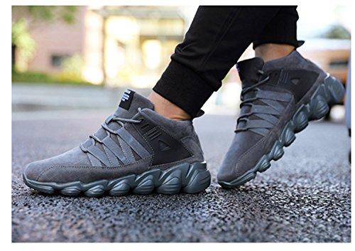 Scarpe da uomo Escursionismo Running Low Trekking Scarpe da arrampicata da viaggio Anti-skid Air Tech Shock Absorbing Fitness Palestra Sport Outdoor Shoes Gray