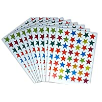 Funky Monkey House 960 COLOURED STARS - IDEAL FOR REWARD CHARTS