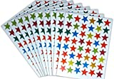 720 COLOURED STARS - IDEAL FOR REWARD CHARTS