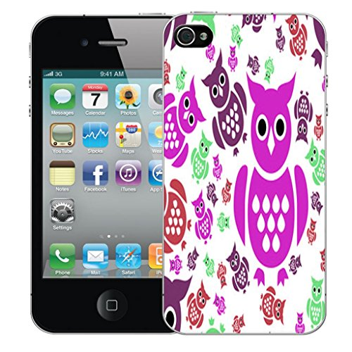 Nouveau iPhone 5s clip on Dur Coque couverture case cover Pare-chocs - natures bounty Motif avec Stylet noble owl