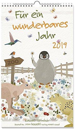 Für ein wunderbares Jahr 2019: Terminkalender