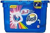 Dash–3in 1, ECODOSI Pods, Waschmittel für Waschmaschine in ist, speichert Farbe–19Kapseln [547.2GR]