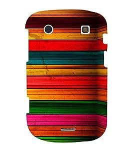PrintVisa 3D Art Pattern 3D Hard Polycarbonate Designer Back Case Cover for Blackberry 9900