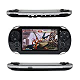 Best Handheld Game Consoles - Qumox Handheld Retro Game Console,Leezo 1PC Rechargeable 4.3inch Review