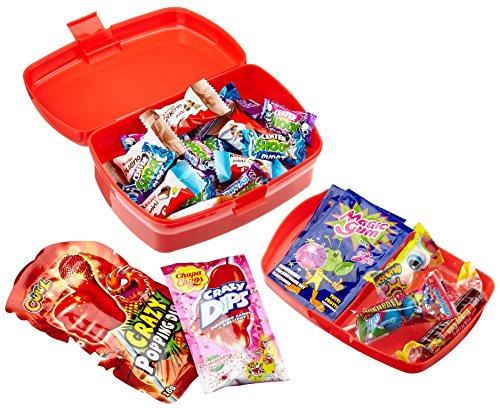 CAPTAIN PACK Halloween Horror Treasure Box mit Süßigkeiten (41-teilig), 1er Pack (1 x 263 g) (Ei-halloween-kostüm)