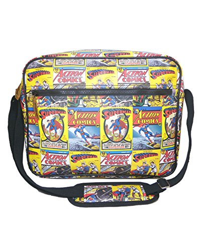 Unisex-Adulte - Official - Superman - Sac De Messager