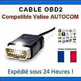 Cable de repuesto OBD2–Compatible con maleta Autocom CDP +/CDP Pro