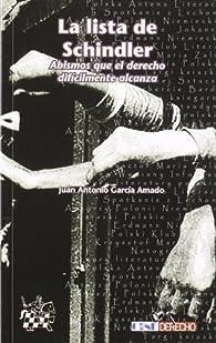 La lista de Schindler par  Juan Antonio García Amado