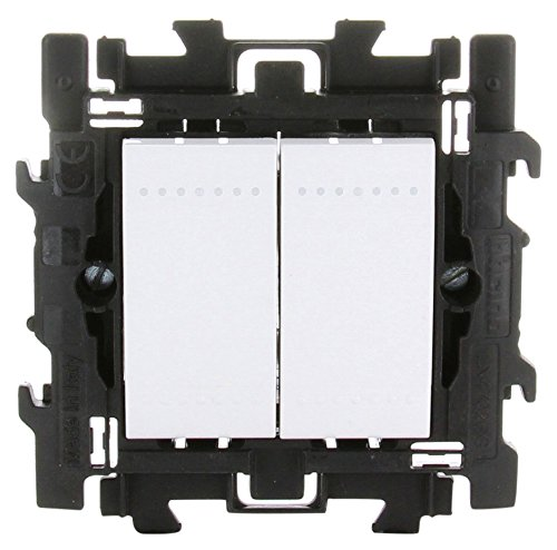bticino 790040036–Interruptor conmutado + botón pulsador