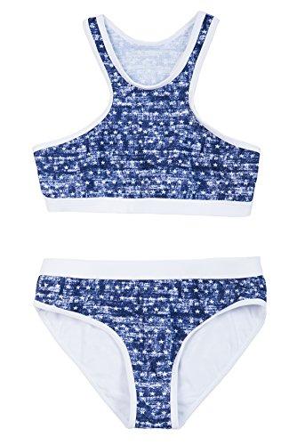 La-V Mädchen Bikini Zweiteilig Sport Jeans-Optik/Größe 140/146 -