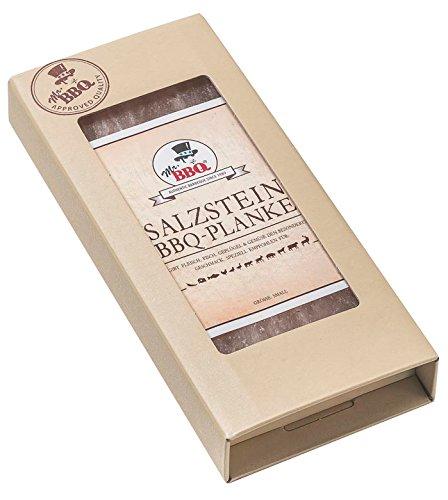 Preisvergleich Produktbild Starters Mr. BBQ Salzstein Planke in verschiedenen Größen 10 x 20 x 2, 5 cm,  1 Stück,  39180100