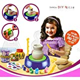 #8: Shrreji Pottery Wheel Game with Colors and Stencils, Creative Educational Game Toy