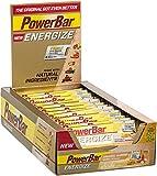 Energieriegel Energize mit Magnesium und Natrium – Fitness-Riegel, Kohlenhydrate Riegel mit Hafer, Früchten und Maltodextrin bei erhöhtem Energiebedarf – 25 x 55 g Kokosnuss Vanilla Almond