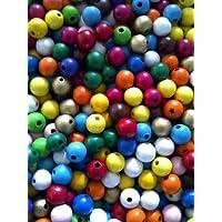 Spielzeug Holzperlen XXL  Kugeln Perlen Ketten basteln NEU