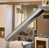 LED Aufbauleuchte / Chrom / kalt weiß / Art.2061 / 230 Volt / 10 Watt / 650lm / Spiegelleuchte