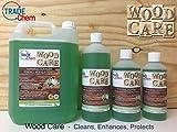 Entretien du bois naturel–Nettoyant et protecteur pour parquets et stratifiés–Citrus, 5 l