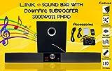 #10: Link+ Soundbar With Downfire Subwoofer 3000Watt PMPO Black