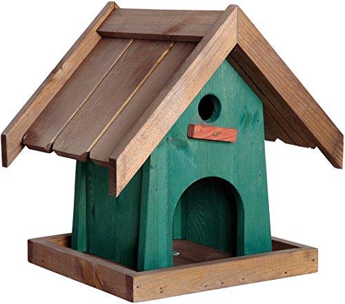 Luxus-Vogelhaus 21120e Modernes Vogelhaus zum Aufstellen, 31.5 x 27.5 x 32 cm