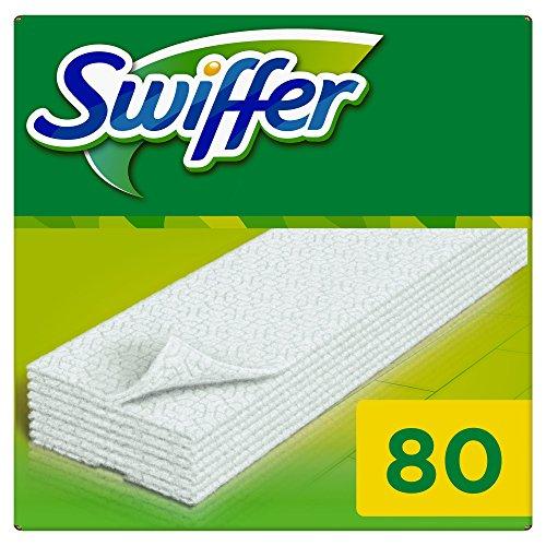 Swiffer Trockene Bodentücher Nachfüllpackung, 80 Tücher, (1 x 80 Tücher)