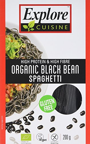 Explore Asian Organic Black Bean Spaghetti, 200 g