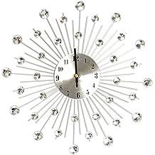 creative light reloj de pared de hierro creativo de gran tamao reloj de pared ultra