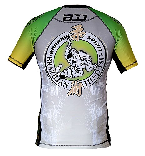 Dirty Ray Martial Arts MMA Brazilian Jiu-Jitsu men's compression short sleeve rashguard T-Shirt RG1