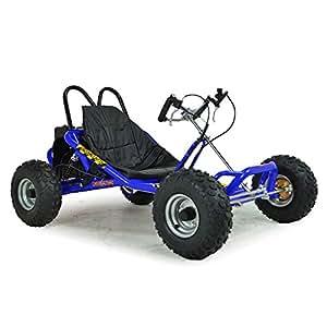FunBikes The Drift 2 2015 200cc Go Kart Black, Blue, Orange, Red & Yellow (Blue)