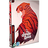 The Jungle Book Animation - Mondo #21 UK World Exclusive Limited Edition Steelbook Blu-ray Region Free