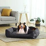 Songmics XXL Luxus Hundebett Hundekissen Oxford Gewebe mit unten einen Anti-Rutschboden – 120 x 85 x 30 cm PGW30H - 2