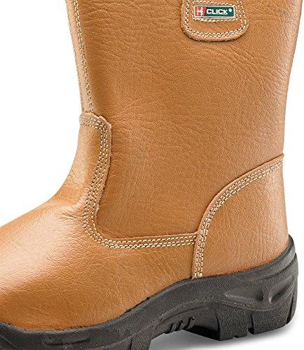 Click Workwear , Chaussures de sécurité pour homme Beige - Miel