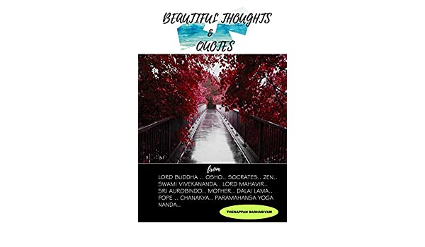 Buy Beautiful Thoughts Quotes Spiritual Booksphilosophy Books