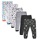#9: Minicult Cotton Baby Pajama Pants unisex with Rib