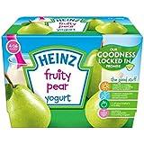 Heinz Fruité Yogourt Poire 4-36 Mths 4 X 100G - Paquet de 6