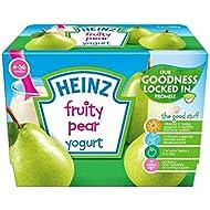 Heinz Afrutado Yogur De Pera 4-36 Mess 4 X 100 G - Paquete de 6