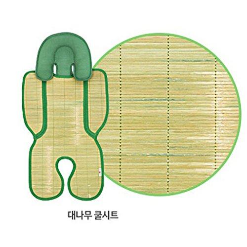 morecare bambù naturale tappetino per passeggino seggiolino auto respirare traspirante estivo Cuscino d' aria e offre effetto di raffreddamento - Bambù Passeggino